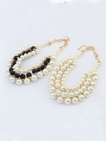 Occident Stylish Imitation pearls Hot Sale Necklace