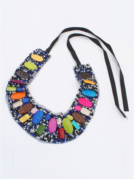 Occident Bohemia Ethnic customs Hot Sale Necklace - A