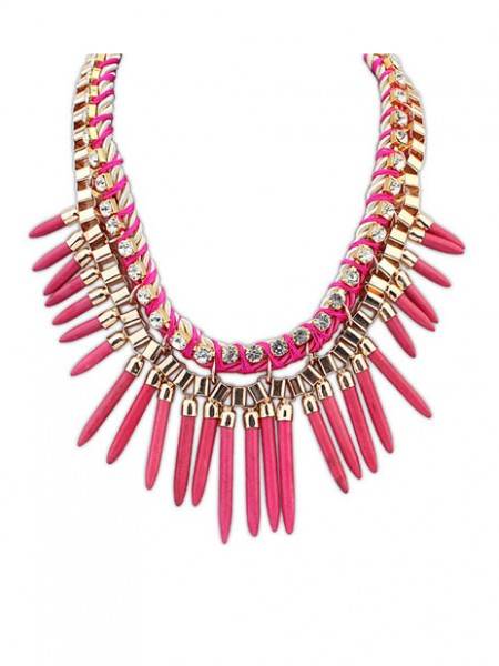 Occident Hyperbolic Personality Punk Street shooting Hot Sale Necklace